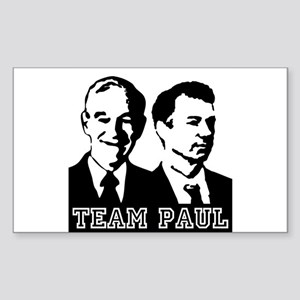 TEAM PAUL Sticker (Rectangle)