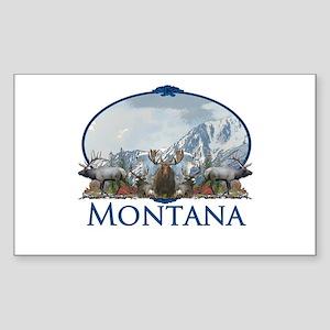 Montana Sticker (Rectangle)