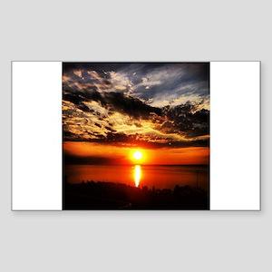 Sunrise of Fire Sticker