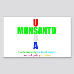 Contaminating the Food Supply Sticker (Rectangle)