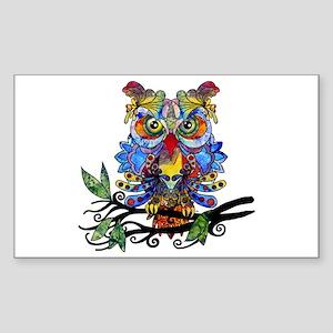 wild owl Sticker