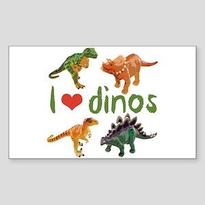 I Love Dino Sticker
