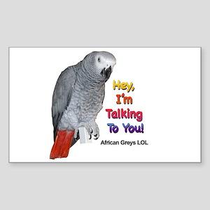 Hey, I'm talking to you! LOL Sticker