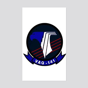VAQ 141 Shadowhawks Rectangle Sticker