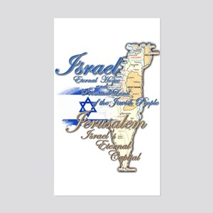 Israel, Jerusalem - Sticker (Rectangle)