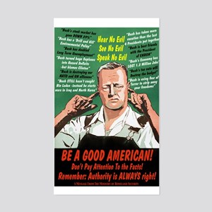 Be A Good American Sticker