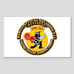 USMC - Marine Attacks Squadron 223 with Text Stick