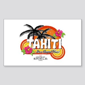 Greetings From Tahiti Sticker (Rectangle)