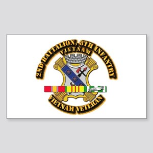 2nd Battalion, 8th Infantry Sticker (Rectangle)