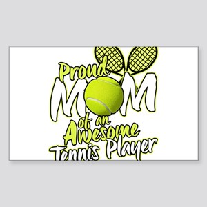 Proud Mom Of An Awesome Tennis Player Sticker