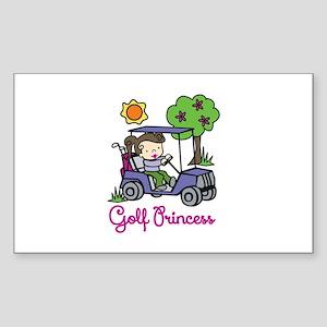 Golf Princess Sticker