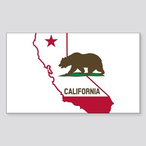 CALI STATE w BEAR Sticker