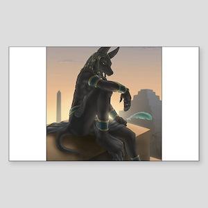 Best Seller Anubis Sticker (Rectangle)