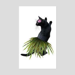 Hula Cat Sticker