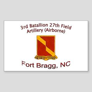 3rd Bn 27th FA Sticker (Rectangle)