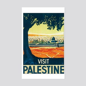 Palestine Holy Land Rectangle Sticker