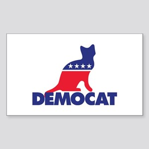 Democat Sticker (Rectangle)