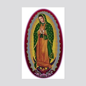 7 Lady of Guadalupe Sticker (Rectangle)