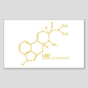 LSD Rectangle Sticker