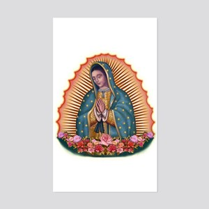 Lady of Guadalupe T2 Sticker (Rectangle)