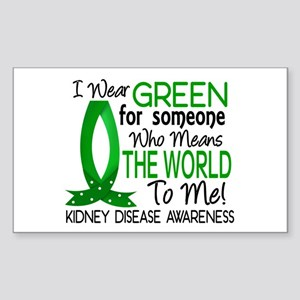 Means World To Me 1 Kidney Disease Shirts Sticker