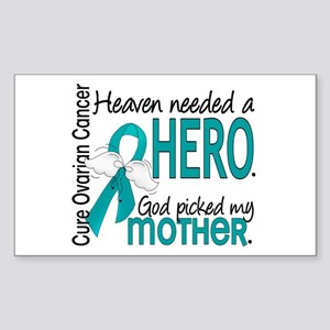 Ovarian Cancer Heaven Needed H Sticker (Rectangle)