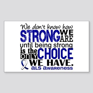 ALS HowStrongWeAre Sticker (Rectangle)