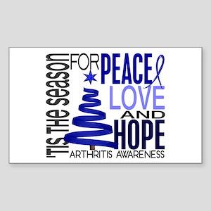 Christmas 1 Arthritis Sticker (Rectangle)