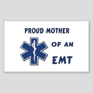 Proud Mother of an EMT Sticker (Rectangle)