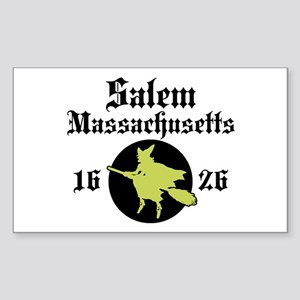 Salem Massachusetts Rectangle Sticker