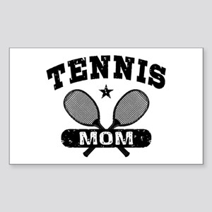 Tennis Mom Sticker (Rectangle)