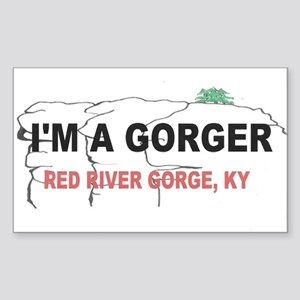 I'm A Gorger Sticker