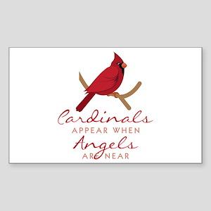 Cardinals Appear Sticker