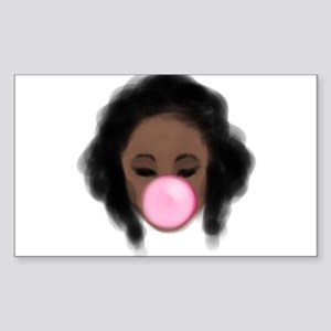 Bubble Gum Girl Sticker