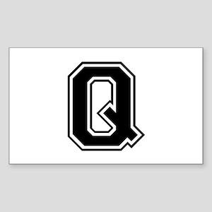 Q-var black Sticker