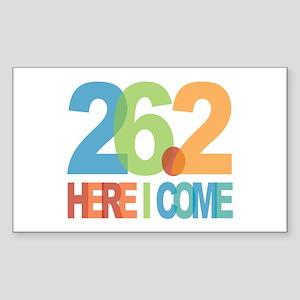 26.2 - Here I come Sticker