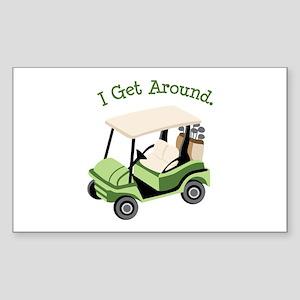 I Get Around Sticker