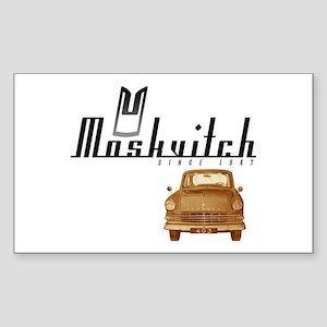 Moskvitch Rectangle Sticker