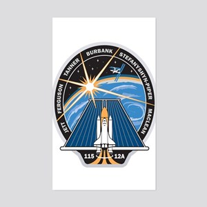 STS 115 Patch Rectangle Sticker