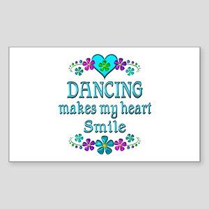 Dancing Smiles Sticker (Rectangle)