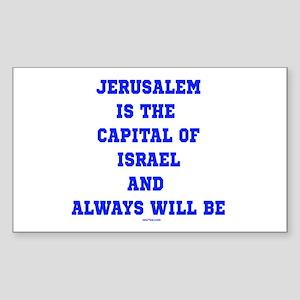 Jerusalem Israel Forever Sticker