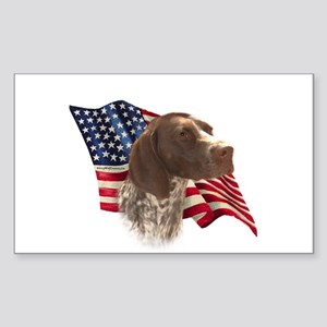 GSP Flag Rectangle Sticker
