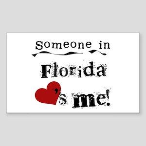 Someone in Florida Rectangle Sticker