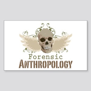 Forensic Anthropology Rectangle Sticker