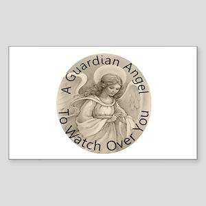 Guardian Angel Sticker (Rectangle)