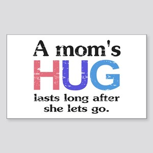 A Moms Hug Sticker