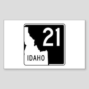 Route 21, Idaho Sticker (Rectangle)