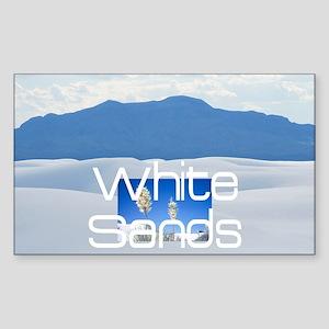 whitesandssq Sticker (Rectangle)