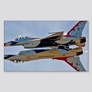 (15) Thunderbirds 5 and 6 Sticker (Rectangle)
