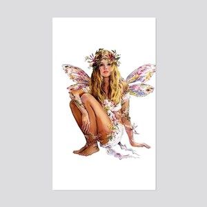 Beautiful Fairy Rectangle Sticker